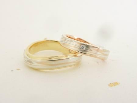 120422木目金の結婚指輪_銀座店002.JPG