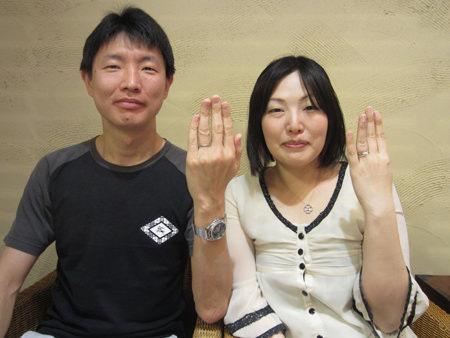 12042801木目金の婚約・結婚指輪_心斎橋店001.JPG