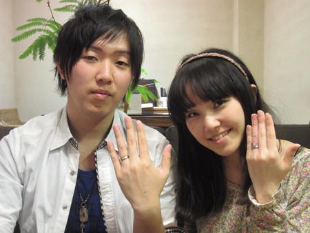 12042802木目金の婚約・結婚指輪_心斎橋店001.JPG