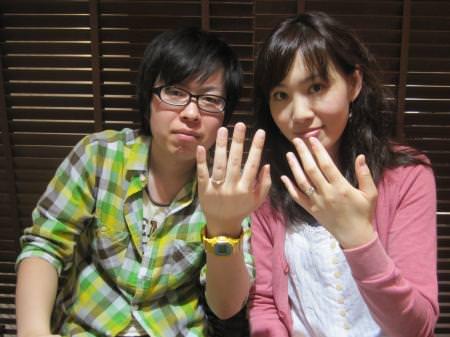12042901木目金の婚約指輪と結婚指輪_c001.JPG