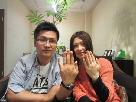 12042901木目金の結婚指輪_心斎橋店001.JPG