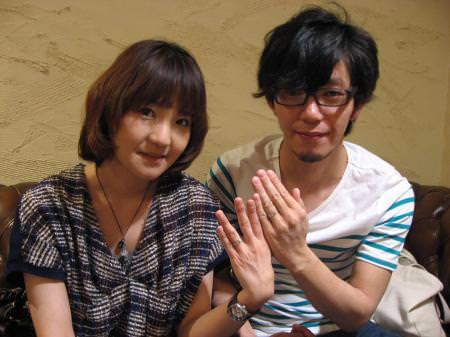 12052301木目金の結婚指輪表参道本店001.JPG