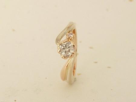 12052501木目金の結婚指輪 銀座店002.jpg