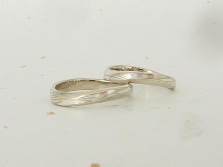 12052601木目金の結婚指輪 銀座店002