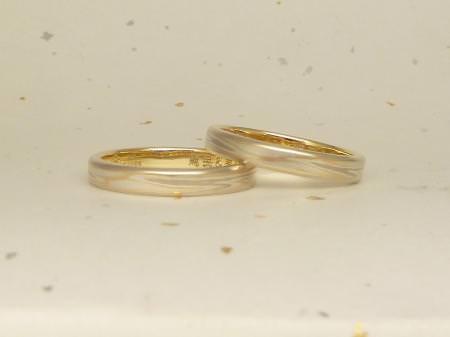 120528 木目金の結婚指輪 横浜元町店002.jpg