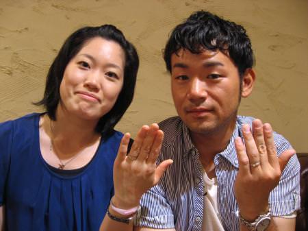120529木目金の結婚指輪001.JPG