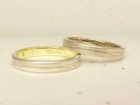 12052901木目金の結婚指輪表参道本店002.JPG