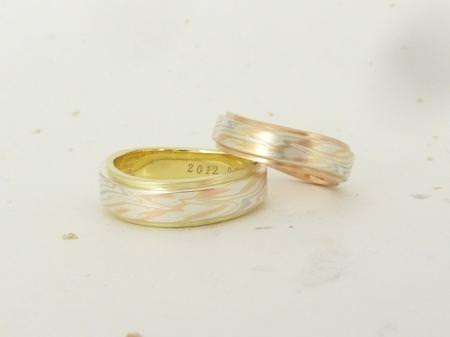 12052605木目金の結婚指輪_横浜元町店002