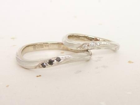 12072205木目金の結婚指輪 Y 001.JPG