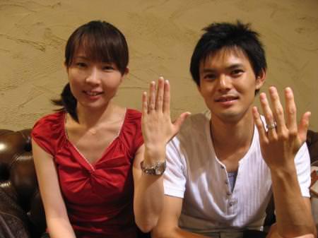 12072301木目金の結婚指輪001-M.JPG