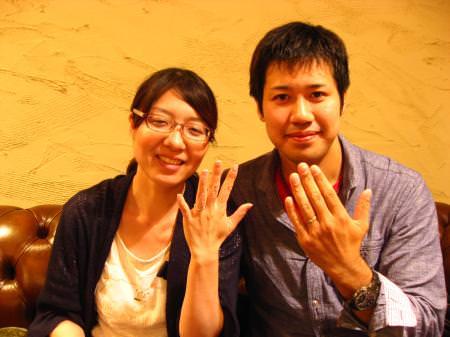 12072701木目金の結婚指輪M001.JPG