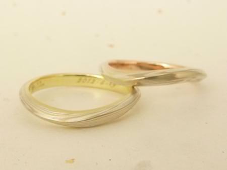 12072802木目金の結婚指輪 Y 002.JPG