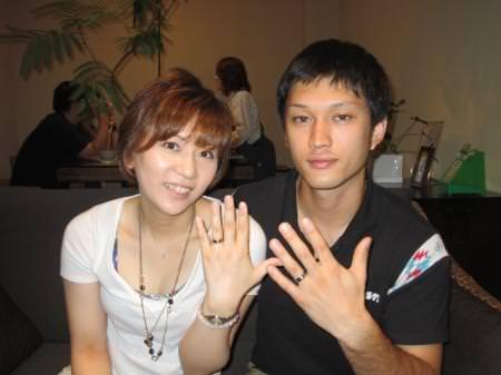 12072802木目金の結婚指輪_心斎橋店001.JPG