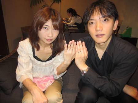 12072803木目金の結婚指輪_心斎橋店001.JPG