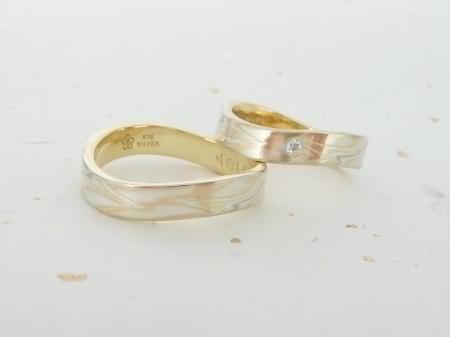 12072911木目金の結婚指輪_銀座本店002.JPG