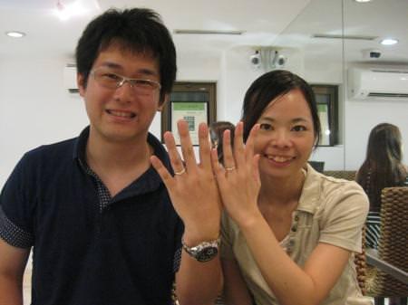12072922木目金の結婚指輪_銀座本店001.JPG