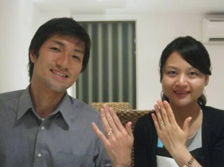 12072788木目金の結婚指輪_銀座本店001.JPG