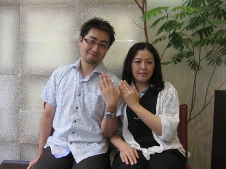 12082501木目金の結婚指輪_銀座店001.JPG