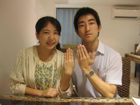 12082502木目金の結婚指輪_銀座店001.JPG