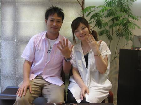 12082503木目金の結婚指輪_銀座店001.JPG