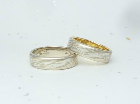 12082503木目金の結婚指輪_銀座店002.JPG