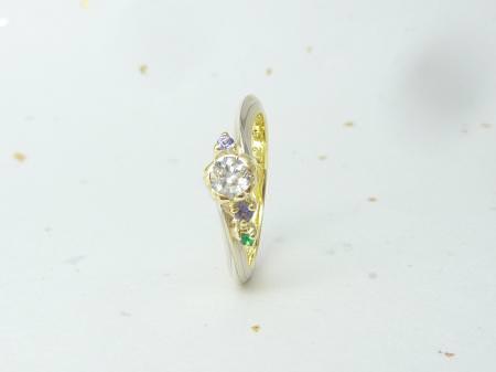 12082602木目金の婚約指輪_広島本店002.JPG