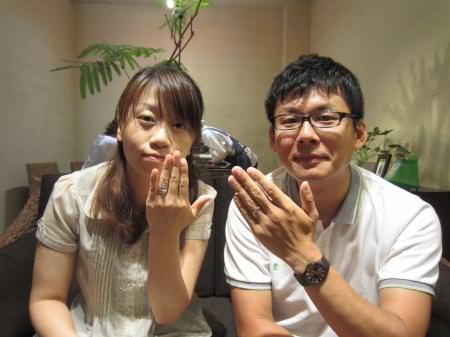 12082603木目金の結婚指輪_心斎橋店001.JPG