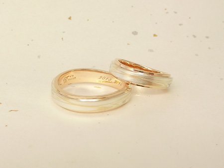 120827木目金の結婚指輪_銀座002.JPG