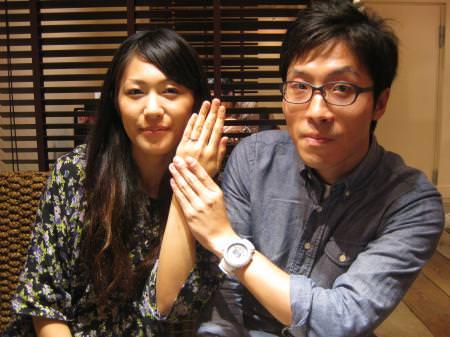 12092301 木目金の結婚指輪 Y 001-1.JPG