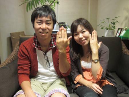 12092401木目金の結婚指輪_心斎橋店001.JPG