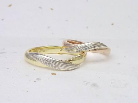 12092601木目金の結婚指輪 Y 002.JPG