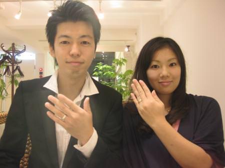 12092601木目金の結婚指輪_銀座本店001.JPG