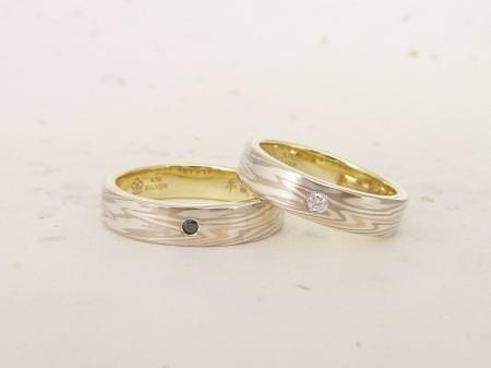 12092901木目金の結婚指輪_銀座本店002.JPG