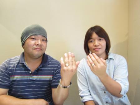 12092903グリ彫りの結婚指輪_千葉店001.JPG