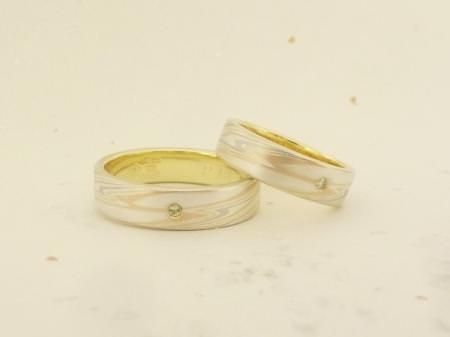 12093001木目金の結婚指輪Y002.JPG