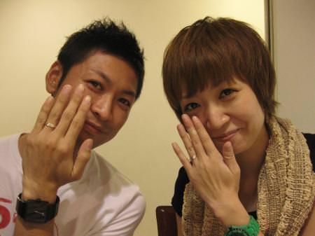12093002木目金の結婚指輪_G001.JPG