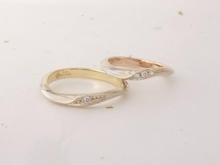 12093003木目金の結婚指輪_銀座本店002.JPG