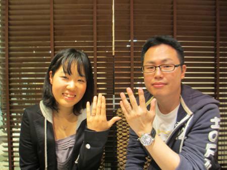 12102102木目金の婚約・結婚指輪_H001.JPG