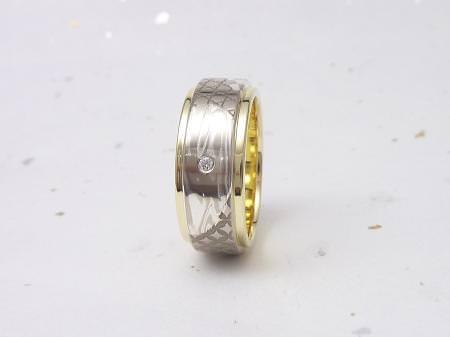 12102201木目金の結婚指輪_京都四条店001.JPG