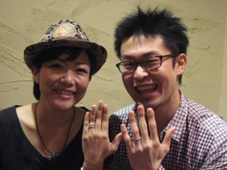 12102401木目金の結婚指輪_M001.JPG