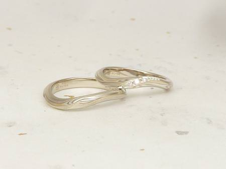 12102701木目金の婚約指輪と結婚指輪U002②.JPG