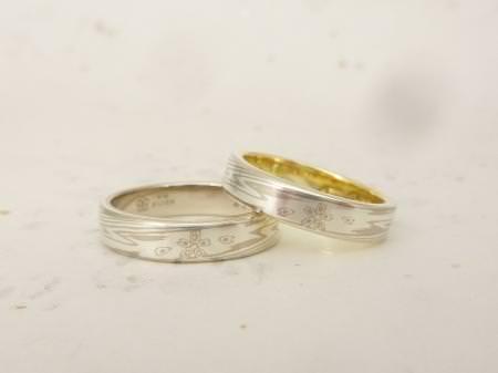 12102701木目金の結婚指輪.JPG