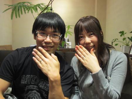 12102702木目金の結婚指輪_心斎橋店001.JPG