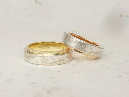 12102703木目金の婚約指輪、結婚指輪_M002 (2).JPG
