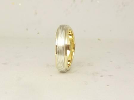 12102704木目金の結婚指輪Y002.JPG