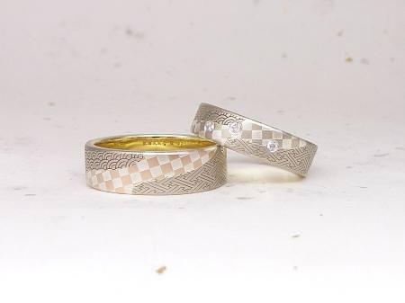 12102705木目金の結婚指輪_M001.JPG