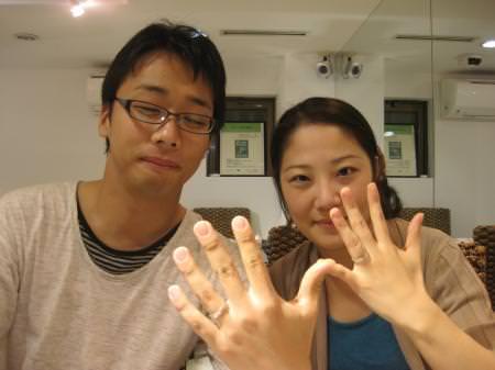 12102710木目金の結婚指輪_銀座本店001.JPG
