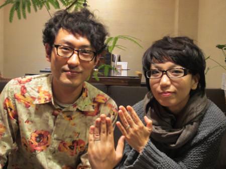 12102801木目金の結婚指輪_心斎橋店001.JPG
