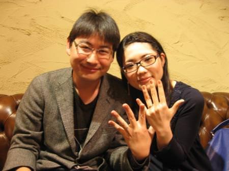 12102801木目金の結婚指輪_M001.JPG
