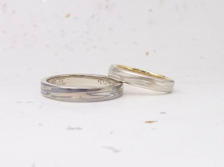 12102803木目金の結婚指輪_M002.JPG